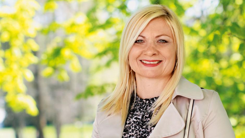 Poslanstvo Milene Pleško je ustvarjanje partnerstev (foto: Goran Antley)