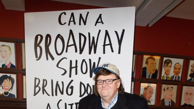 Michael Moore z monoigro o Trumpu poleti na Broadwayu (foto: profimedia)