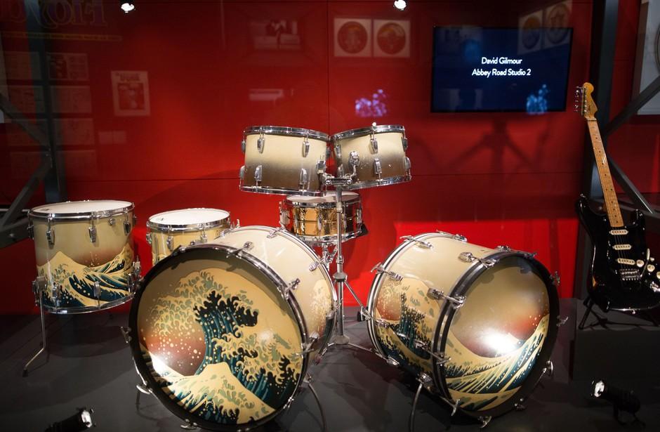 V Londonu razstava o polstoletnem ustvarjanju Pink Floydov (foto: profimedia)