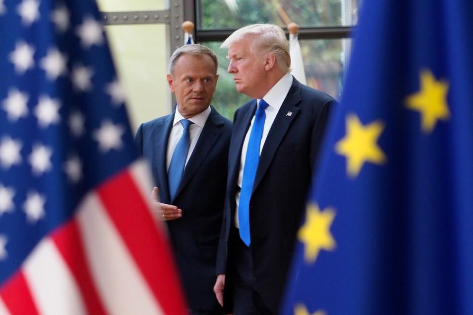 """Trump naj bi po poročanju Spiegla rekel: """"Nemci so slabi, zelo slabi!"""" (foto: profimedia)"""