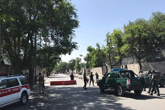 Kabul pretresla silovita eksplozija na trgu Zanbak