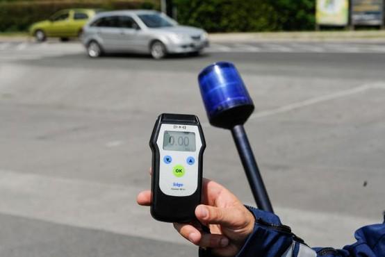 Policija bo vse do nedelje izvajala prvi del akcije 0,0 šofer