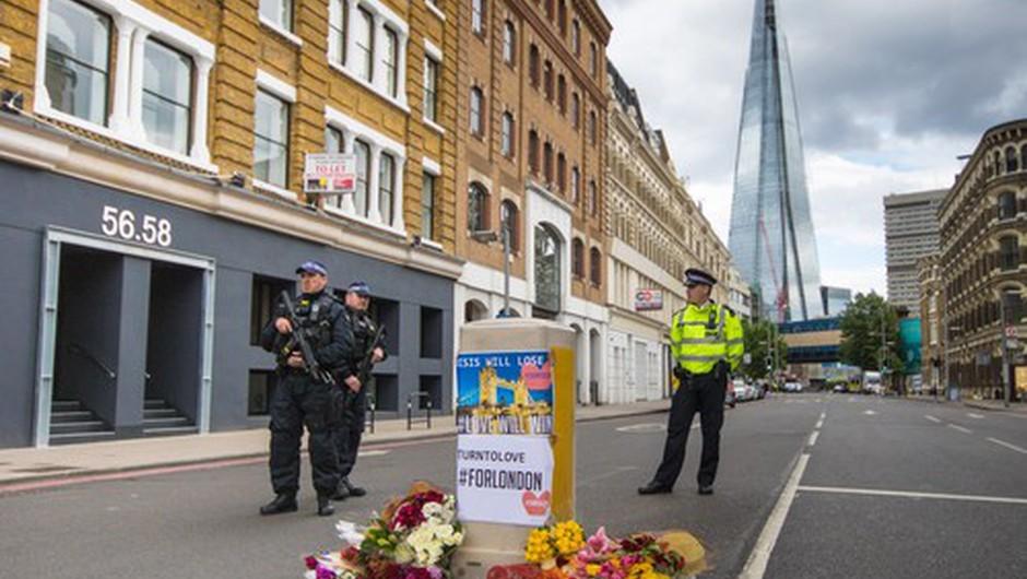 Londonska policija opozarja na 'novo realnost' terorističnih napadov (foto: profimedia)