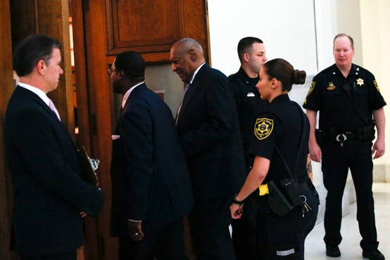 Na sojenju Billu Cosbyju prebrali njegovo izjavo o otipavanju tožnice iz leta 2005