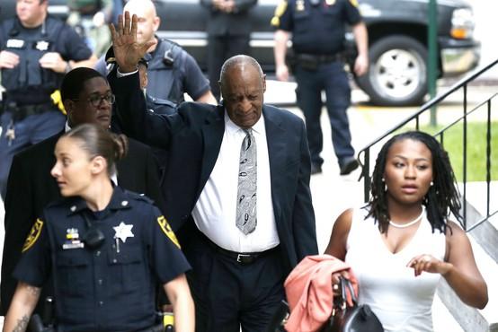 Proces proti Cosbyju se je končal brez razsodbe