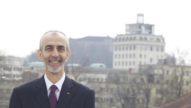 Dr. Milan Jazbec, veleposlanik, ki je s svojo kandidaturo izzval aktualnega predsednika (foto: Aleksandra Saša Prelesnik)