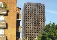 V Londonu zaradi požarne varnosti evakuirali štiri stolpnice