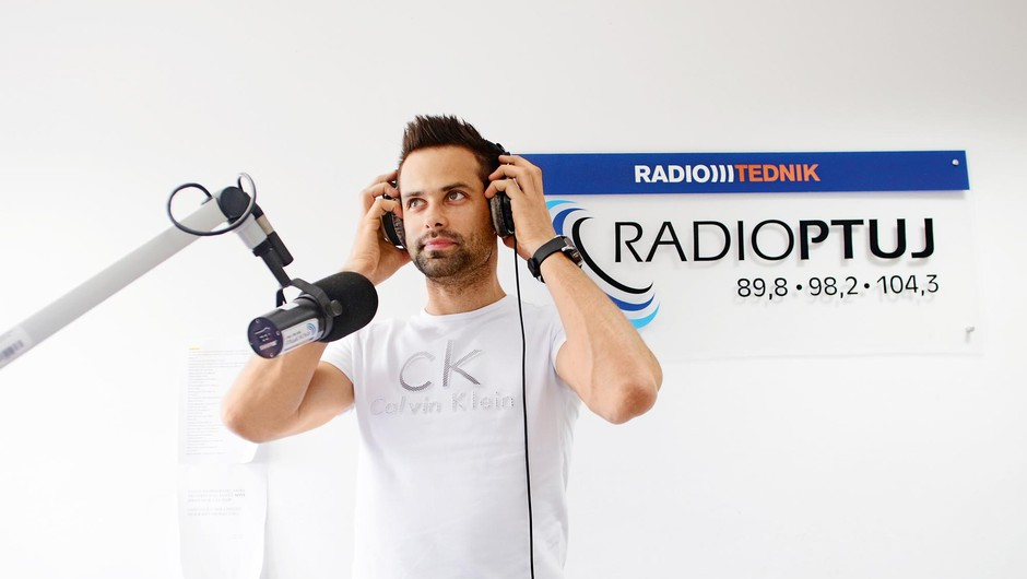 Matjaž Kitak: Nisem izbiral radia, radio je izbral mene (foto: Goran Antley)