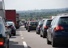 Ob začetku glavne sezone se pričakuje gost promet z zastoji