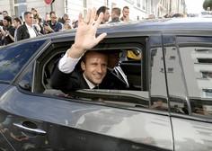 V Franciji prijeli moškega, ki naj bi nameraval ubiti Macrona
