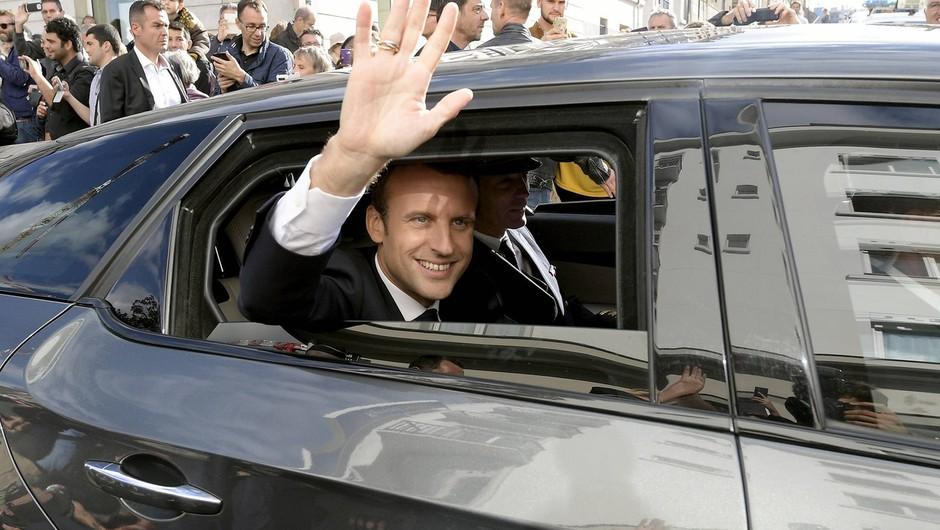 V Franciji prijeli moškega, ki naj bi nameraval ubiti Macrona (foto: profimedia)