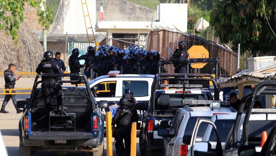 V obračunu v enem od prenatrpanih zaporov v Mehiki 28 mrtvih (foto: profimedia)