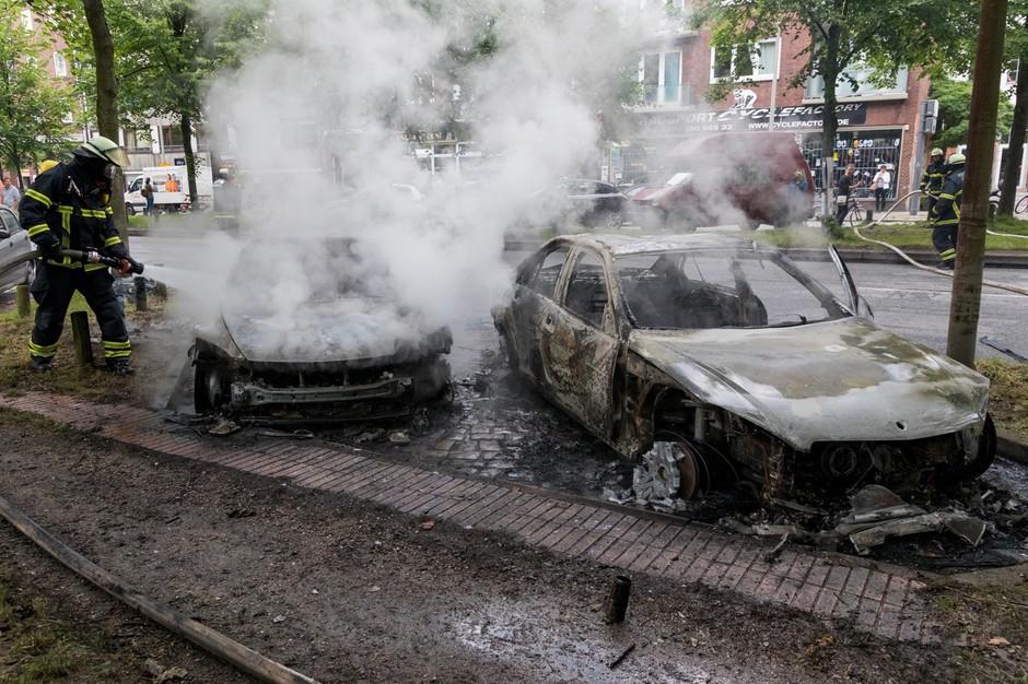 V Hamburgu novi izgredi, ki se še stopnjujejo! (foto: profimedia)