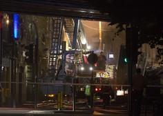 Londonsko tržnico zajel požar