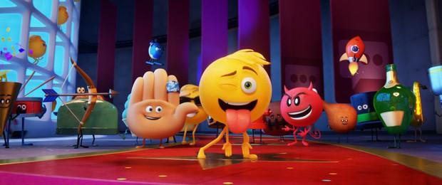 Animirani hit Film o emojijih je v Guinnessovi knjigi rekordov! (foto: Karantanija Press)