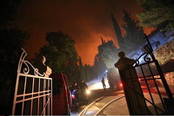 Na območju Splita požari ne ogrožajo več hiš