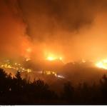 Na območju Splita požari ne ogrožajo več hiš (foto: profimedia)