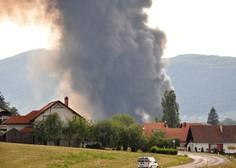Požar v Zalogu pri Novem mestu so ukrotili, zdaj pa ugotavljajo, kako se je to lahko zgodilo!