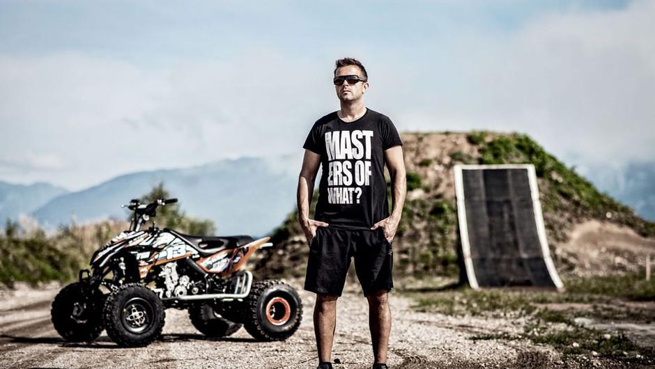 Aleš Rozman je hkrati gladiator in gospodar (foto: Gašper Podbregar)