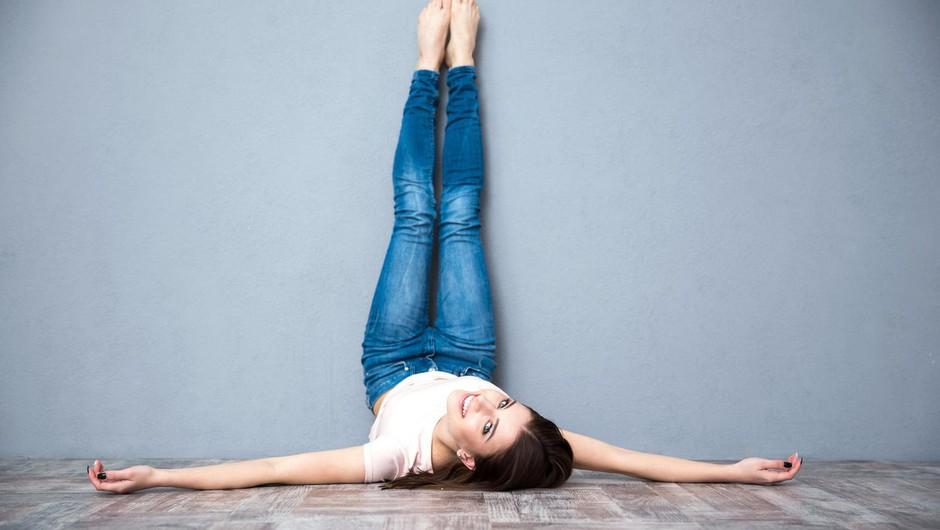 Kaj se zgodi, če dva tedna vsak dan polagate noge ob steno? (foto: Profimedia)