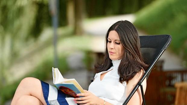 Lara Paukovič: Sploh ne vem, kdaj sem začela pisati ... (foto: Primož Predalič)
