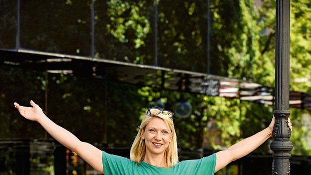 Nuša Repovž: Gibanje med nosečnostjo je pomembno! (foto: Igor Zaplatil)