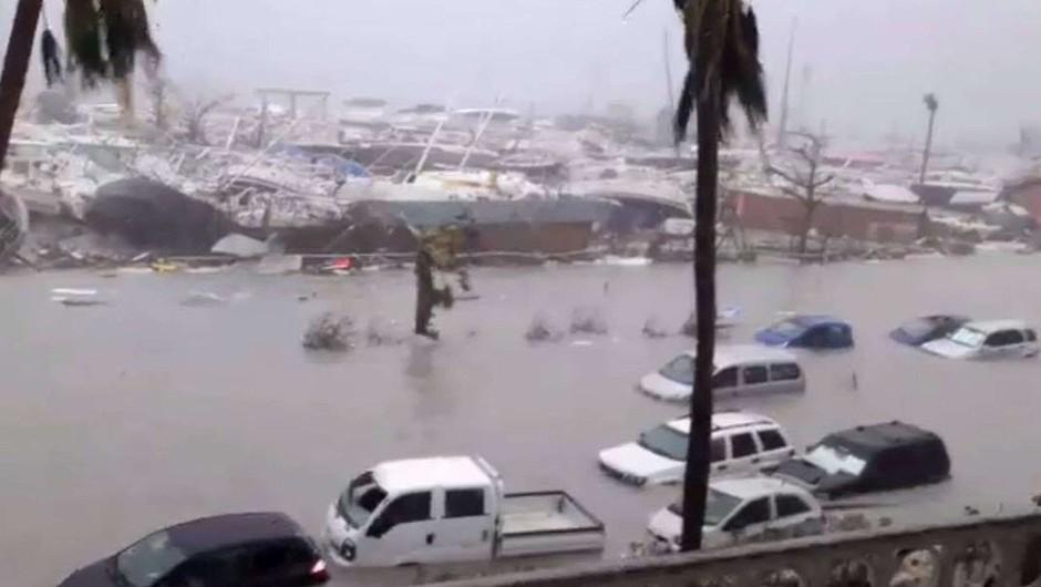 Irma je na Karibih povzročila strašno opustošenje in zahtevala več smrtnih žrtev (foto: profimedia)