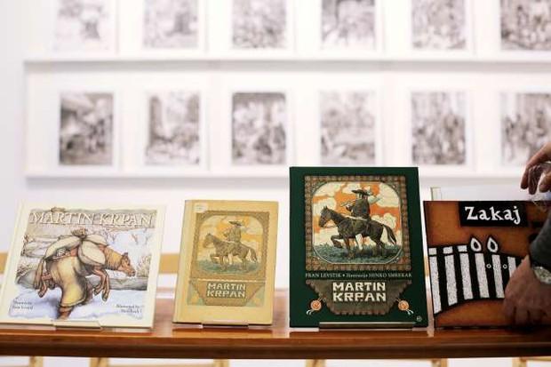 Po 100 letih jubilejna izdaja prve izvirne slovenske slikanice Martin Krpan (foto: Daniel Novakovič/STA)