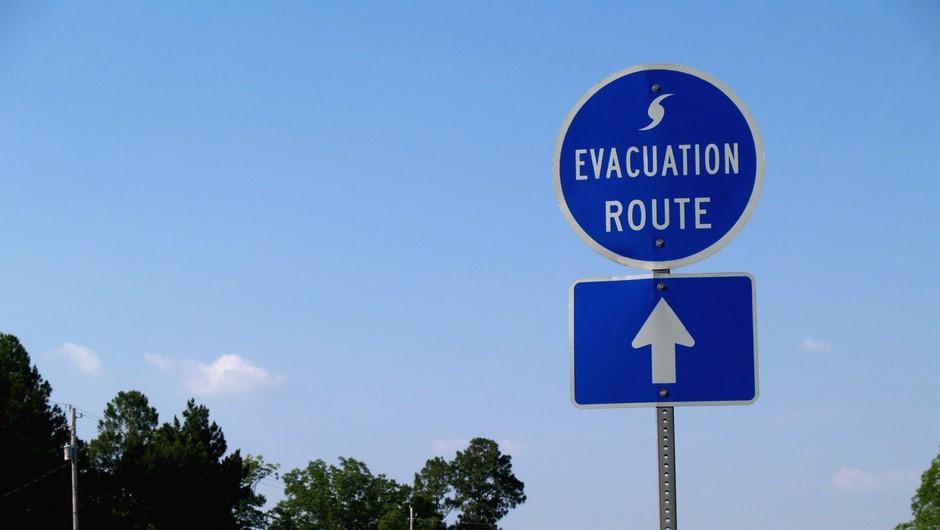 Na Floridi evakuacija 5,6 milijona ljudi, Trumpov Mar a Lago pa naj bi se ognil najhujšemu! (foto: profimedia)