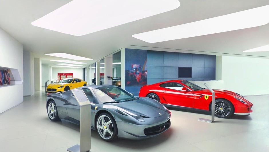 Avtomobili Ferrari praznujejo 70. obletnico (foto: profimedia)