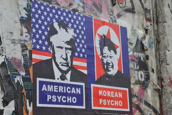Iz Pjongjanga prihajajo resne grožnje o sestrelitvi ameriških bombnikov