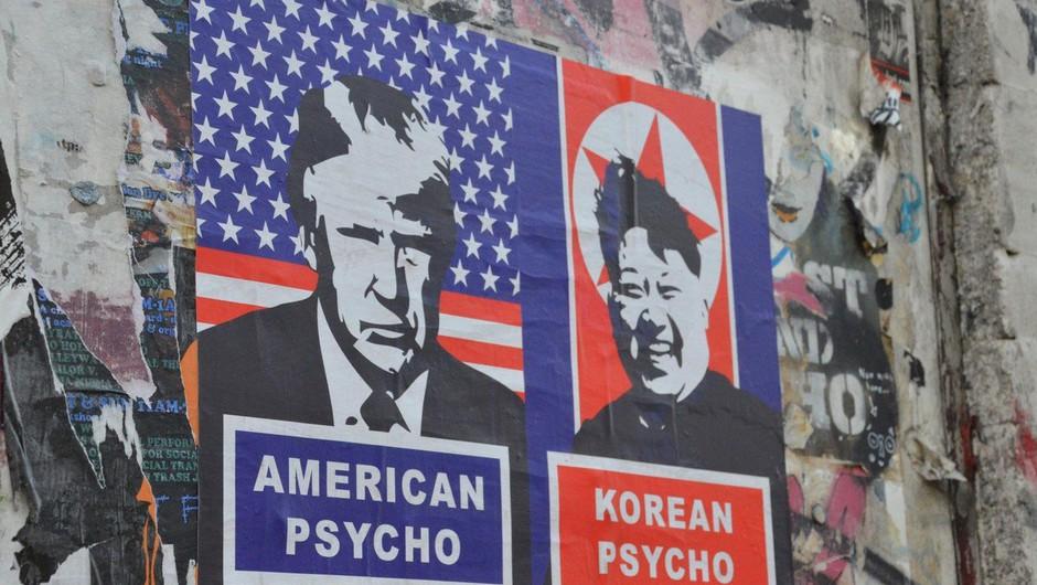 Iz Pjongjanga prihajajo resne grožnje o sestrelitvi ameriških bombnikov (foto: profimedia)