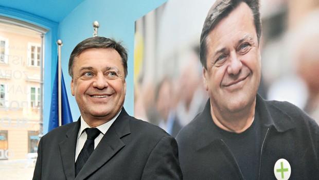 """Zoran Janković se bo vključil v volitve: """"... samo, da ne bo zmagal Janez Janša!"""" (foto: Shutterstock)"""