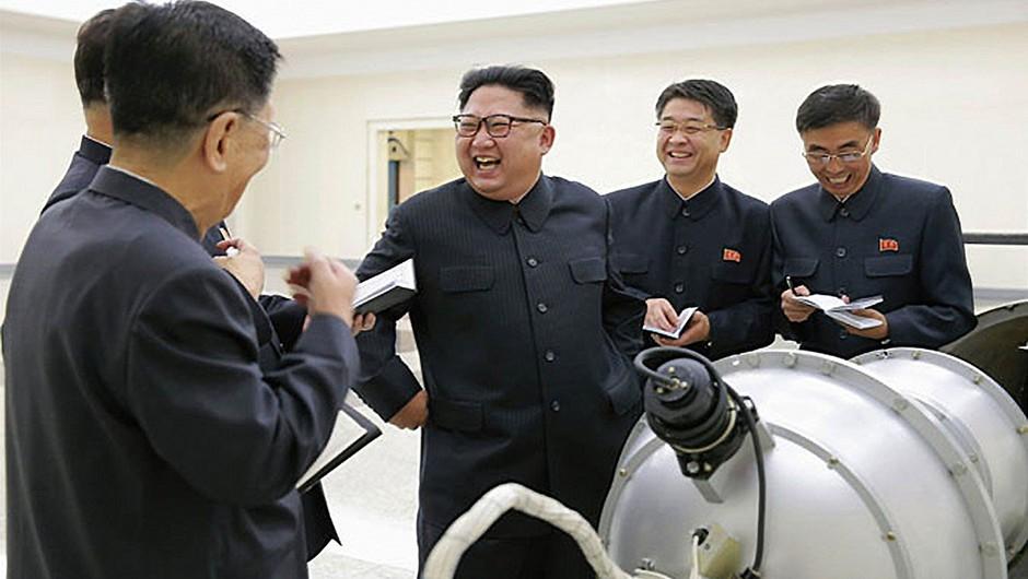 Pjongjang želi vedeti, kdaj Trump le blebeta in kdaj misli resno! (foto: profimedia)