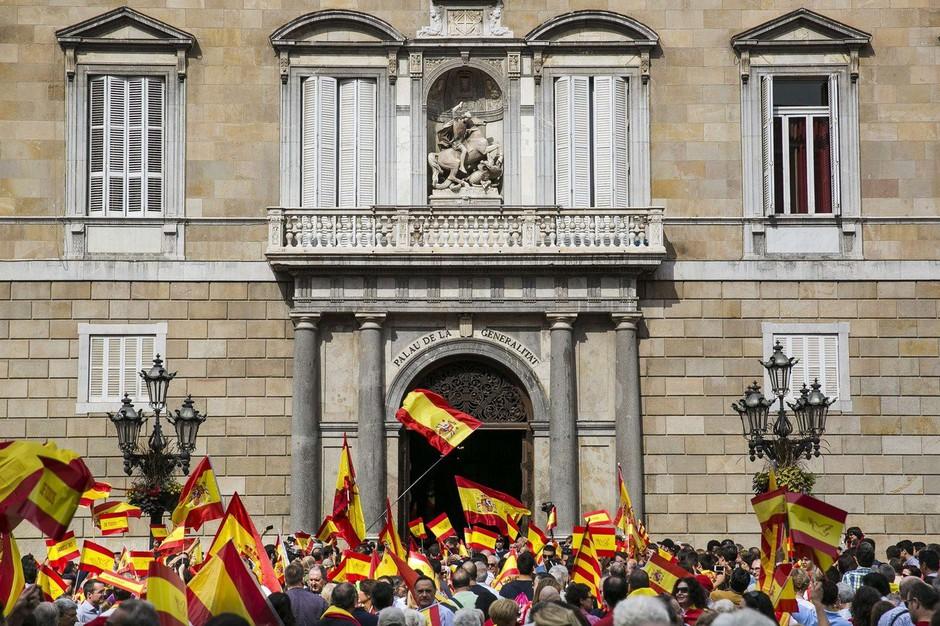 V Kataloniji je dan pred referendumom nadvse napeto! (foto: profimedia)