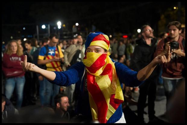 Katalonske oblasti za mednarodno posredovanje v sporu med Barcelono in Madridom (foto: profimedia)