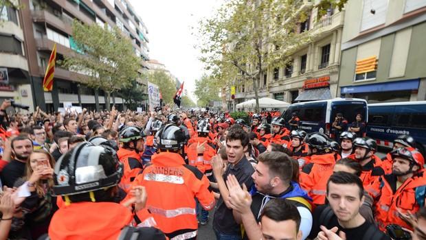 Katalonija: protesti, blokade, shodi in stavka! (foto: profimedia)