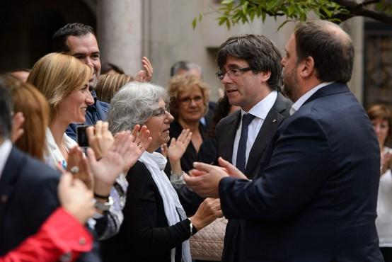 Puigdemont: Razglasitev samostojnosti Katalonije v prihodnjih dneh