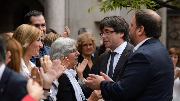 Puigdemont: Razglasitev samostojnosti Katalonije v prihodnjih dneh (foto: profimedia)