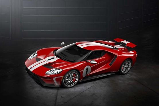 Posebna izdaja modela Ford GT ob 50. obletnici zmage v Le Mansu