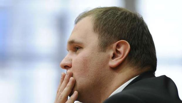 Matej Raščan zaradi oškodovanja podjetja Dela Revij obsojen na štiriletno zaporno kazen (foto: Nebojša Tejič/STA)