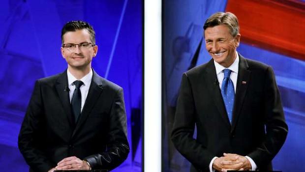 Uradno: Pahor in Šarec v drugi krog predsedniških volitev! (foto: Daniel Novakovič/STA)