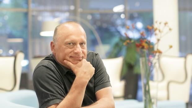 Pogovor z Mirsadom Purivatro, direktorjem Sarajevskega filmskega festivala (foto: Goran Antley)