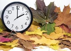 Ure smo premaknili nazaj na zimski čas in tako spali uro dlje!