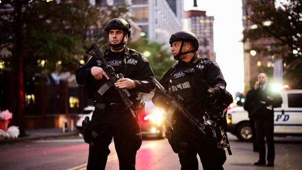 Po terorističnem napadu v New Yorku zaostrene varnostne razmere (foto: profimedia)