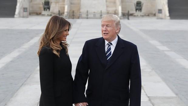 Trump poln hvale na račun kitajskega predsednika Xija, Melania pa je božala pande! (foto: profimedia)