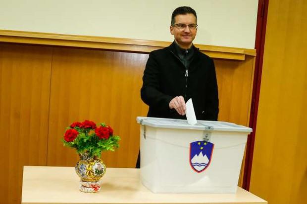 """Marjan Šarec: """"Če ne bi računal na zmago, ne bi kandidiral!"""" (foto: Anže Malovrh, STA)"""