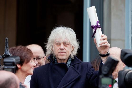Bob Geldof protestno vrnil naziv častnega občana Dublina