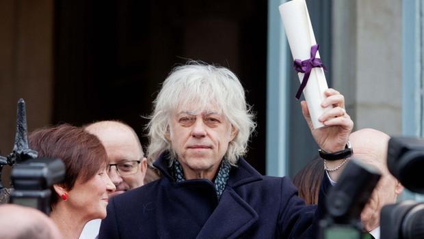 Bob Geldof protestno vrnil naziv častnega občana Dublina (foto: profimedia)