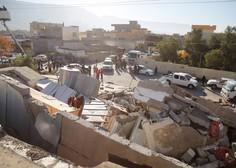 Število žrtev uničujočega potresa v Iranu in Iraku preseglo 300